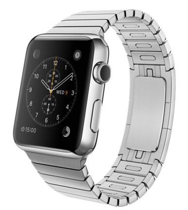 Apple Watch 42mm Stainless Steel Case with Link Bracelet